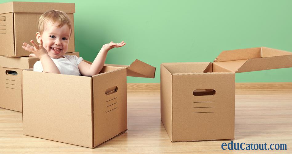 25 id es de choses faire avec des boites de carton. Black Bedroom Furniture Sets. Home Design Ideas