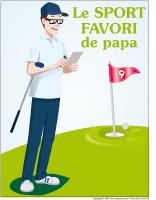 Affiche - Le sport favori de papa