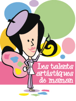 Affiche - Les talents artistiques de maman