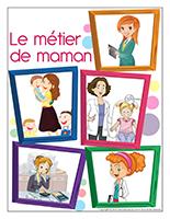 Affiche-Le métier de maman