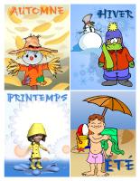 Affiche-Les saisons