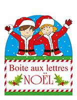 Affiche-boite aux lettres-Noel