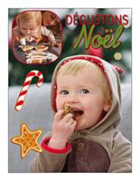 Affiche thématique poupons-Dégustons Noël