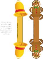 Anneaux serviettes-Noël en couleurs