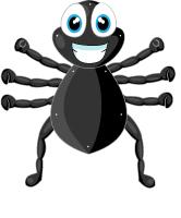 Araignées à enfiler