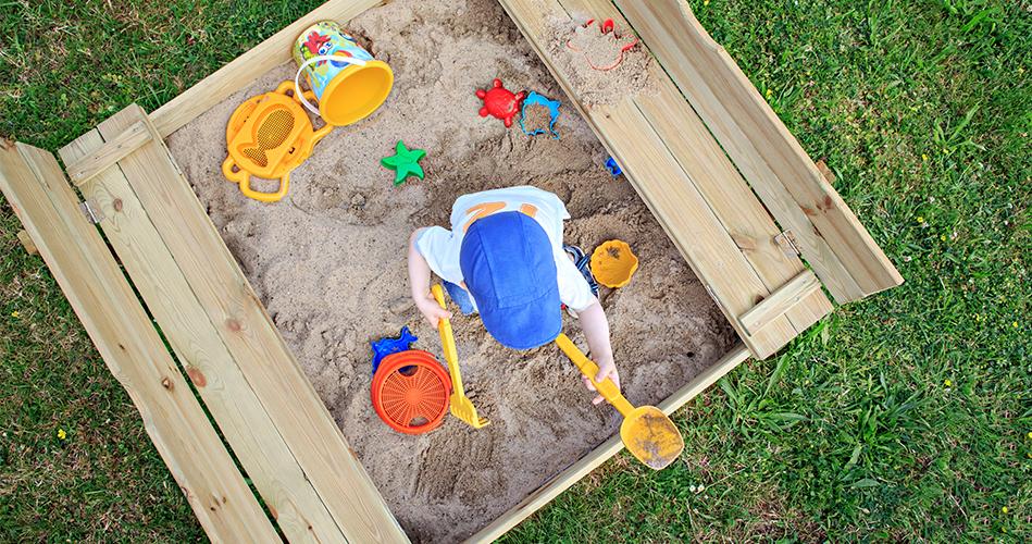bac sable miniature bricolage pour enfants educatout. Black Bedroom Furniture Sets. Home Design Ideas