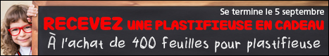 plastifieuse gratuite