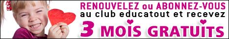 club 3 mois