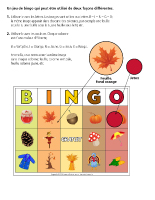 Bingo-L'automne