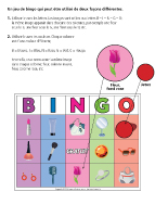 Bingo-La fête des Mères