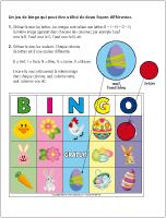 Bingo de Pâques