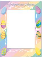 Cadre de photo - Pâques
