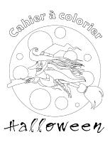 Cahier à colorier-Halloween 2013