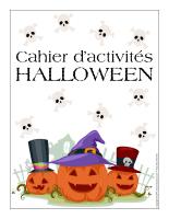 Cahier fiches d'activité Halloween 2014