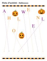 Cahier fiches d'activité-Halloween 2015