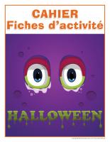 Cahier fiches d'activité-Halloween-2016-1