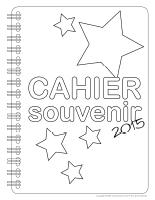 Cahier souvenir 2015