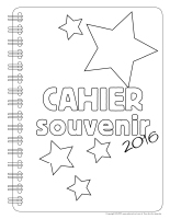 Cahier souvenir 2016