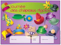 Calendrier perpétuel - Chapeaux rigolos