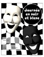 Calendrier perpétuel - Journée noir et blanc