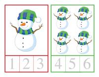 Carte à compter-L'hiver-3