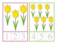 Cartes à compter-Le printemps-3