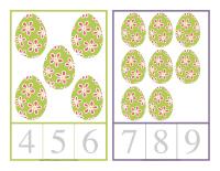 Cartes à compter-Pâques-2