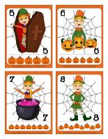 Cartes à jouer-Les lutins de l'Halloween-2