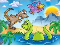 Casse-têtes - Les dinosaures