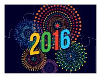 Casse-têtes-jour de l'An 2016