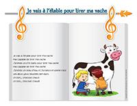 Les vaches activit s pour enfants educatout for Pas d cochon dans mon salon comptine