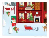 Cherche et trouve géant-Noël