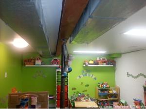 comment camoufler tuyaux et conduits d 39 air au plafond am nagement et d coration educatout. Black Bedroom Furniture Sets. Home Design Ideas