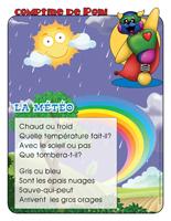 Comptine de Poni-La météo