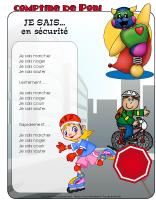 Comptine de Poni-La sécurité estivale