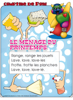 Le m nage du printemps activit s pour enfants educatout - Le menage de printemps ...