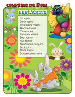 Comptine de Poni-Les lapins