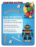 Comptine de Poni-Les robots