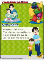 Comptine de Poni-Mon papa