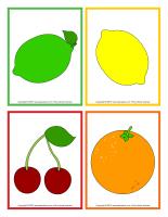 Dessins de fruits