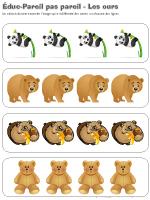 Éduc-Pareil pas pareil - Les ours