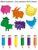 Éduc-couleurs-Les animaux de la ferme