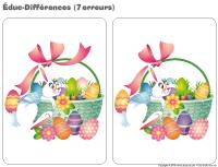 Educ-différences - Pâques