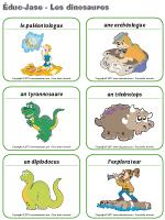 Éduc-jase - Les dinosaures
