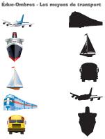 Éduc-ombre - Les moyens de transport