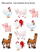 Éduc-paires-Les animaux de la ferme