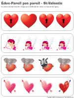 Éduc-pareils pas pareil-La St-Valentin