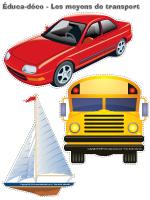Éduca-déco - Les moyens de transport