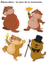 Éduca-déco-Le jour de la marmotte