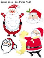 Éduca-déco-Les Pères Noël